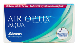 Air Optix AQUA lens